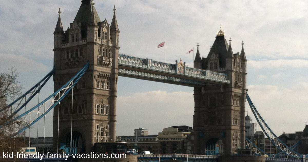 Tower Bridge - London England Vacation