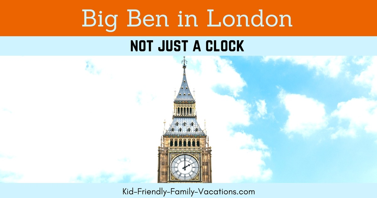 Big Ben London is a historical icon.  Its not just a clock - it is a part of London England's history and is part of Westminster Palace!