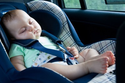 family travel fun - car travel with baby