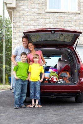 family travel fun - car travel
