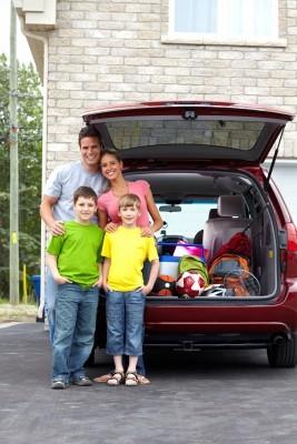family travel fun - car travel