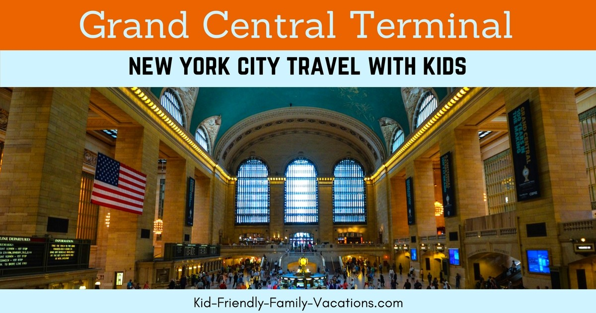 The Grand Central Terminal in New York City - also know as The Grand Central Station - the world's largest terminal station with 44 platforms and 67 tracks