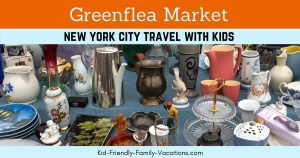 The greenflea market in New York City is one of the first open-air markets to operate and thrive in Uptown Manhattan. It is open on Sundays.