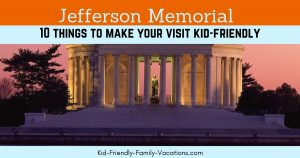 The Jefferson Memorial will not only open the eyes of children to history but will teach appreciation of the architectural beauty of the structure