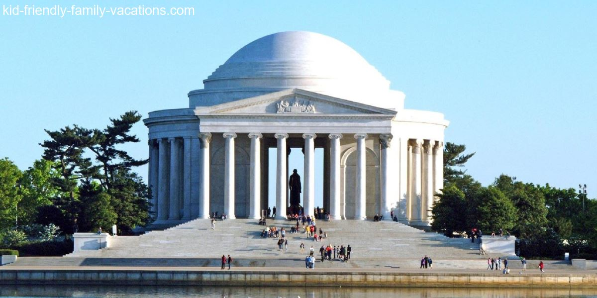 jefferson memorial washington dc for kids