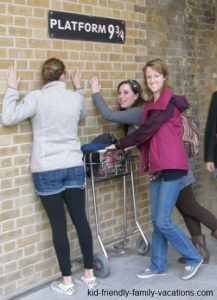 platform 9 3/4 london england vacation