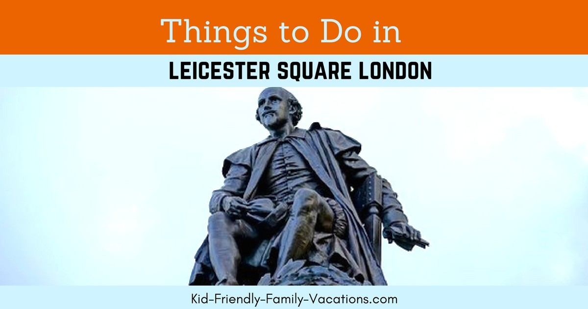Leicester Square London - Things to do in the London Theater district.  There are a number of restaurants, shops and funthings to do.