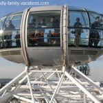 london eye capsule: london england vacation