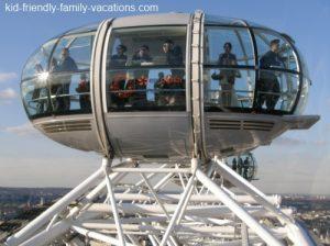 london eye capsule: london england vacation