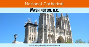 The National Cathedral Washington DC is open to visitors daily. It is a Magnifigant piece of Architecture and the US National House of Prayer