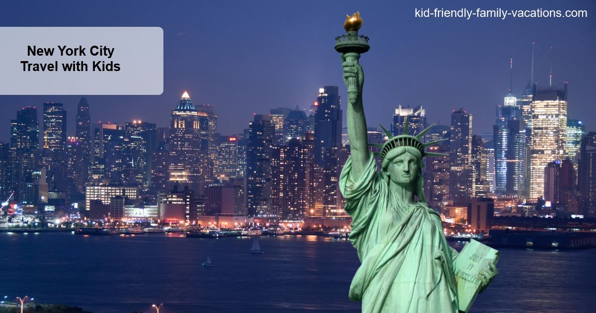 New York City Travel with Kids - not something to be afraid of