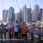 new york city travel with kids brooklyn bridge