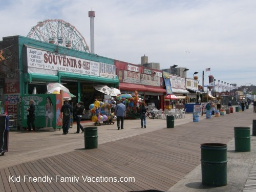 new york city travel with kids coney island
