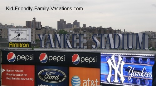 new york city travel with kids yankee stadium