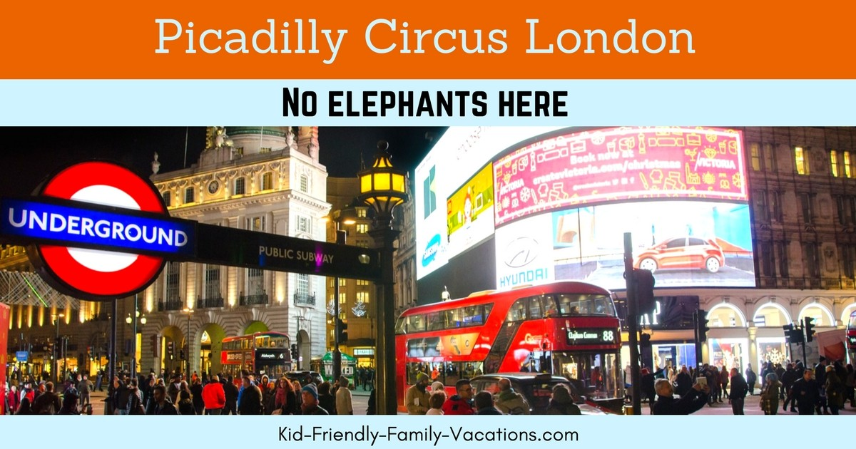 Piccadilly Circus London England - things to do and what to see in the best people watching location in London England. Bright Lights in the Big City!
