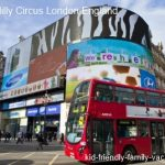 Picadilly Circus London – No Elephants Here