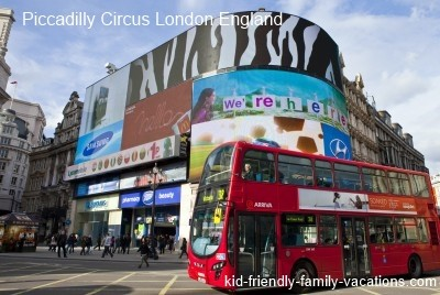 piccadilly circus london england vacation