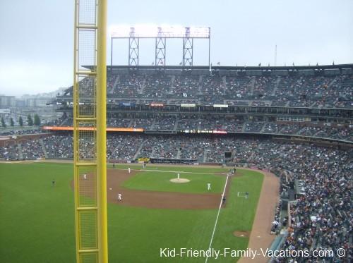 Major league Baseball San Francisco Vacations