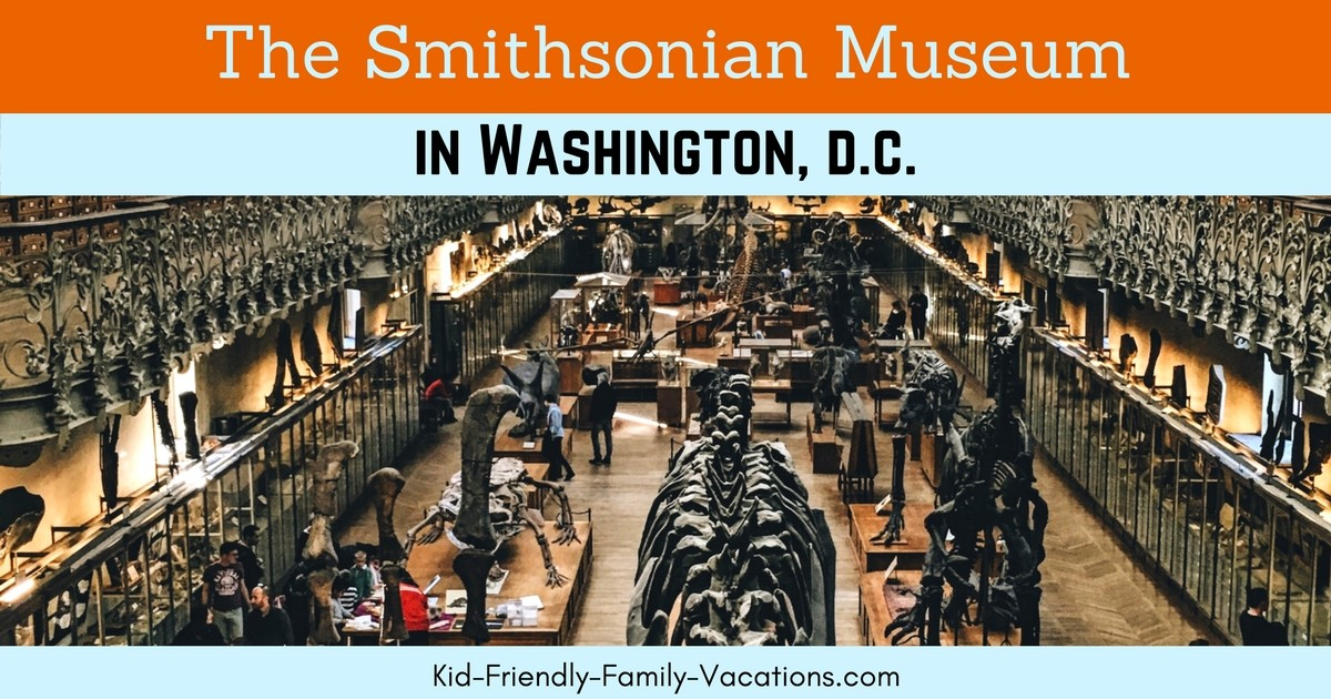 Visit the Smithsonian Museum Washington DC for a great family vacation