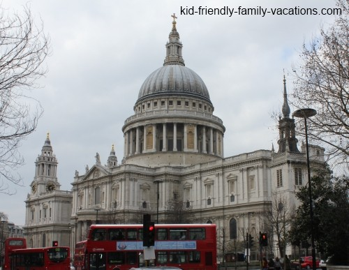 st pauls cathedral london england vacation