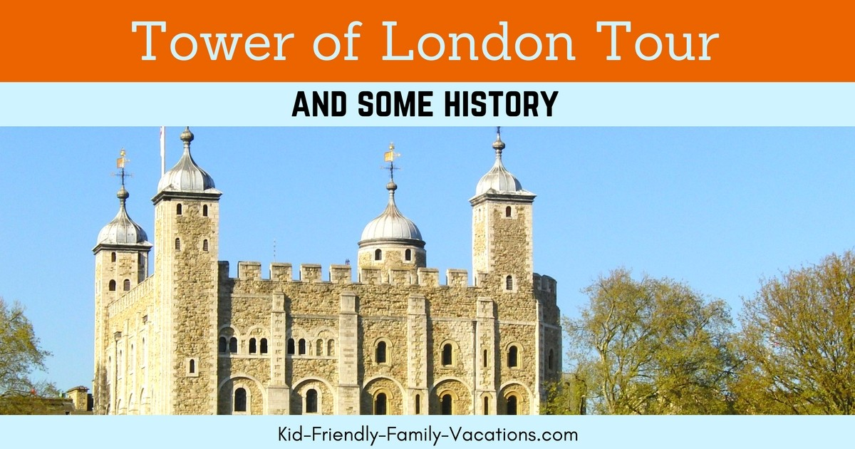 The Tower of London - A Prison, now a Tourist Destination. You will see the Crown Jewels, Yeoman Warders (beefeaters) and people in period costume!