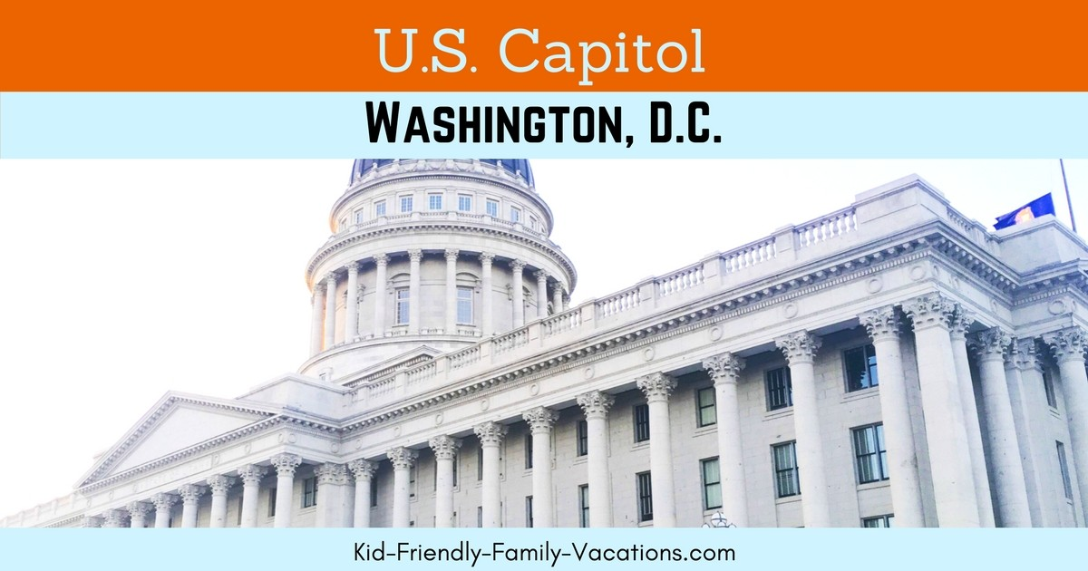 The US Capitol Washington DC is where the US legislature convenes, it also houses working offices and showcases a collection of American art