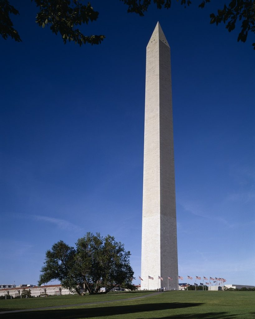 Wasnington DC monuments Washington Monument