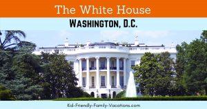 The White House Washington DC - a visit to the president's house