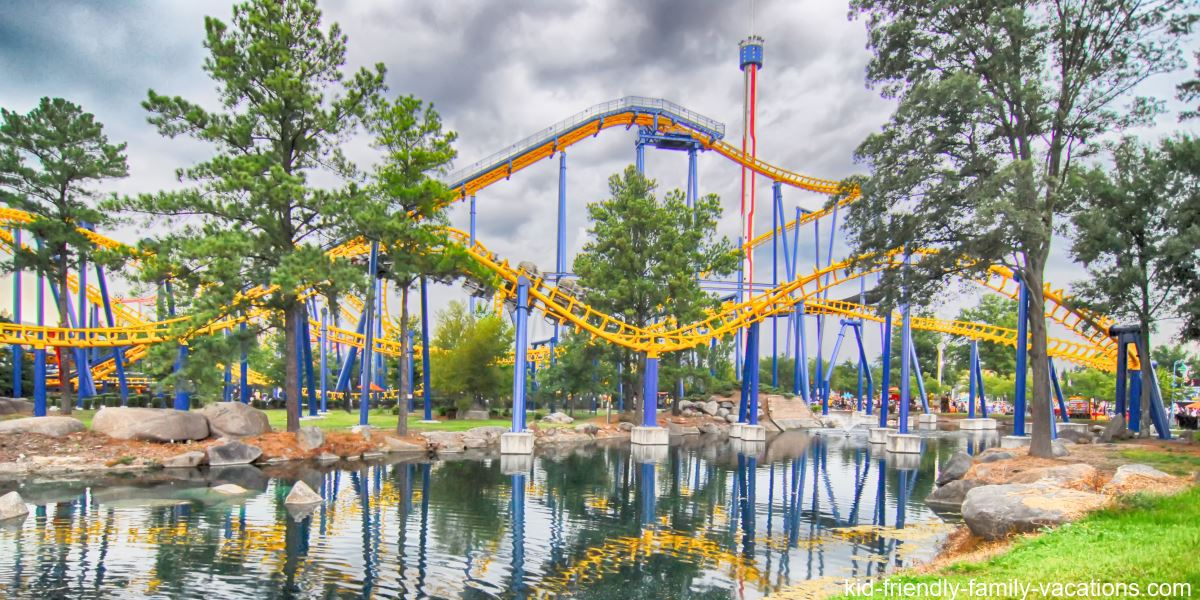 amusement parks theme parks carowinds