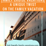 Family Cruise Vacations are a unique type of vacation. You are on the ship, the kids can move about and enjoy their activities