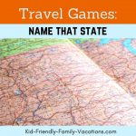 Name that State is a great educational travel game. Its a fun game that you play in the car while traveling with your kids or grandkids