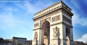 things to do in paris - Arch de Triomphe
