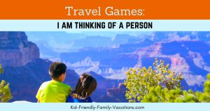 I am thinking of a person is one of our favorite guessing games. Learn this fun game to play in the car while traveling with your kids or grandkids