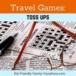 Toss Ups : Travel Games to Play in the Car