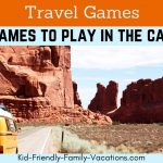 Add plenty of travel games to your vacation planning packing list. Keep th ekids engaged and occupied while traveling to make getting there more fun
