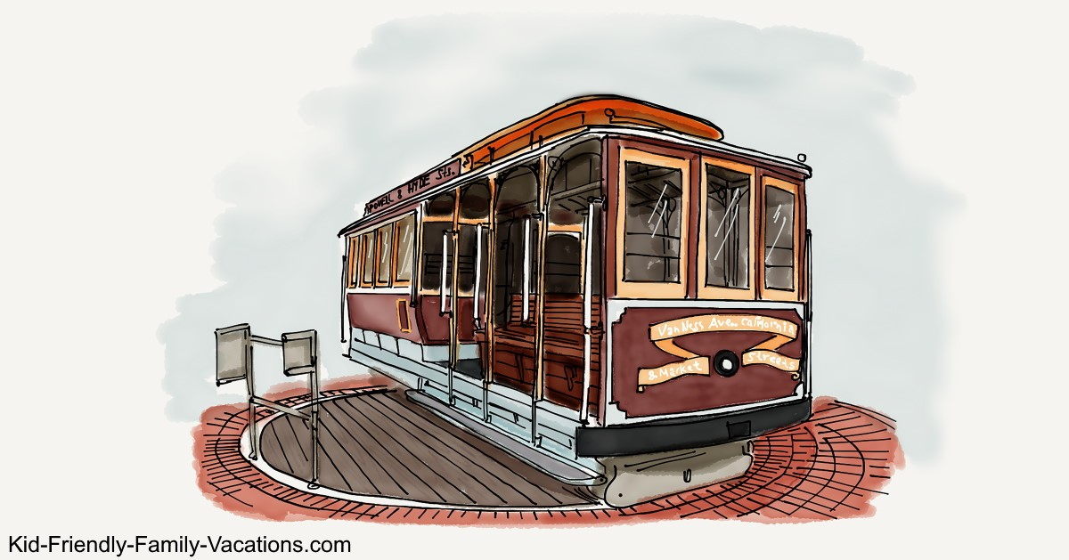 Cable Cars Turntable