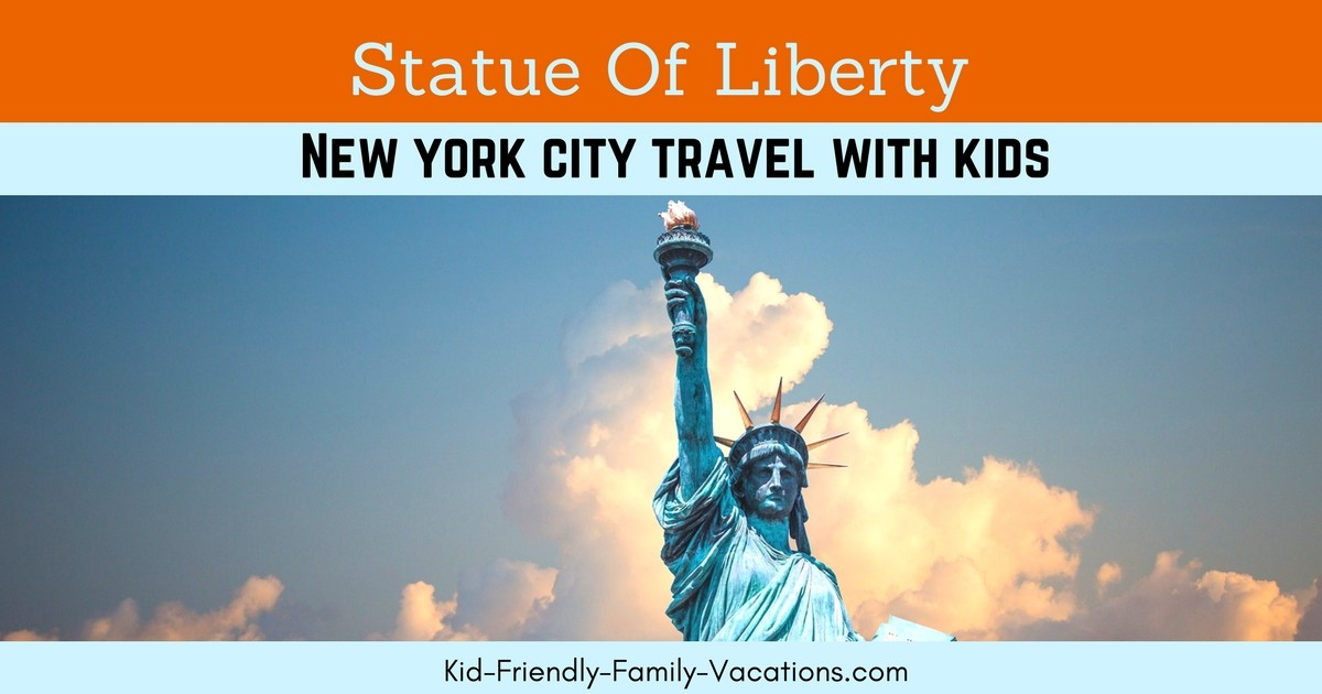 The Statue of Liberty is an iconic piece of American History and has deep meaning for the United States.  Be sure to tour and visit Ellis Island.