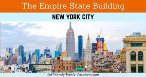 The Empire State Building is one of the most popular building in the world. It is featureed in many movies and can be visited by tourists daily.