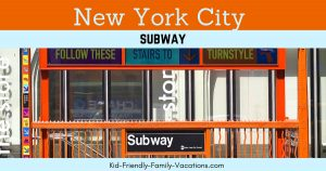 The NYC Subway is one of the easiest ways to get around New York City and one of the most cost effective ways of getting from place to place.