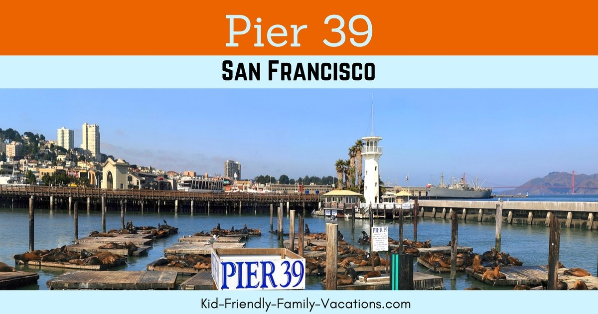 Pier 39 San Francisco is an assortment of shops and restaurants set against the San Francisco Bay. There a many fun things to do there.