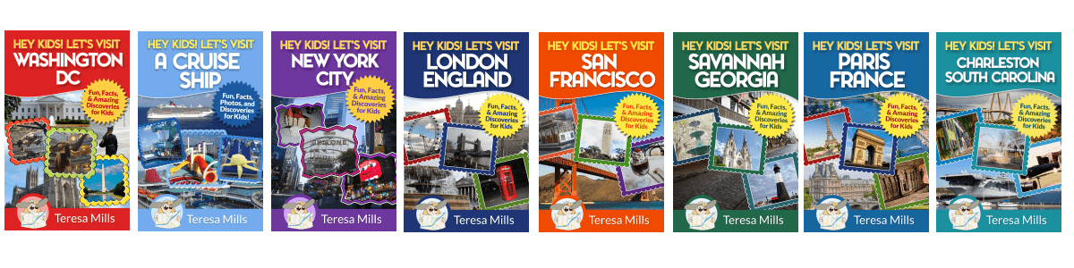 family vacations travel books for kids