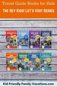 travel guidebooks for kids