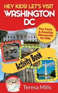 washington dc printable activity book