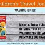 children's travel journal
