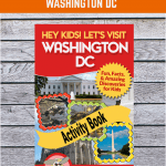 washington dc printable travel games