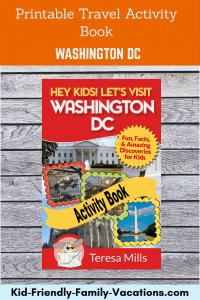 washington dc printable travel games