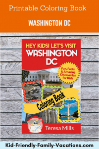 washington dc coloring book