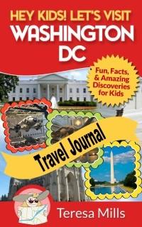 Washington DC Children's travel journal
