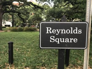 Reynolds Square Savannah Historic District