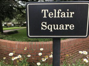 telfair square savannah historic district
